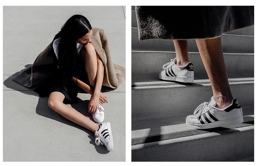 Adidas Superstar astreet style fashion foto