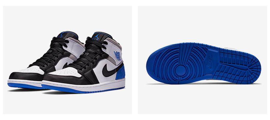 """Chicago"" a ""Oakland"" farebné kombinácie Air Jordan 1 Mid. foto 3"