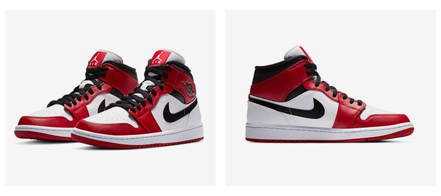 """Chicago"" a ""Oakland"" farebné kombinácie Air Jordan 1 Mid. foto 1"