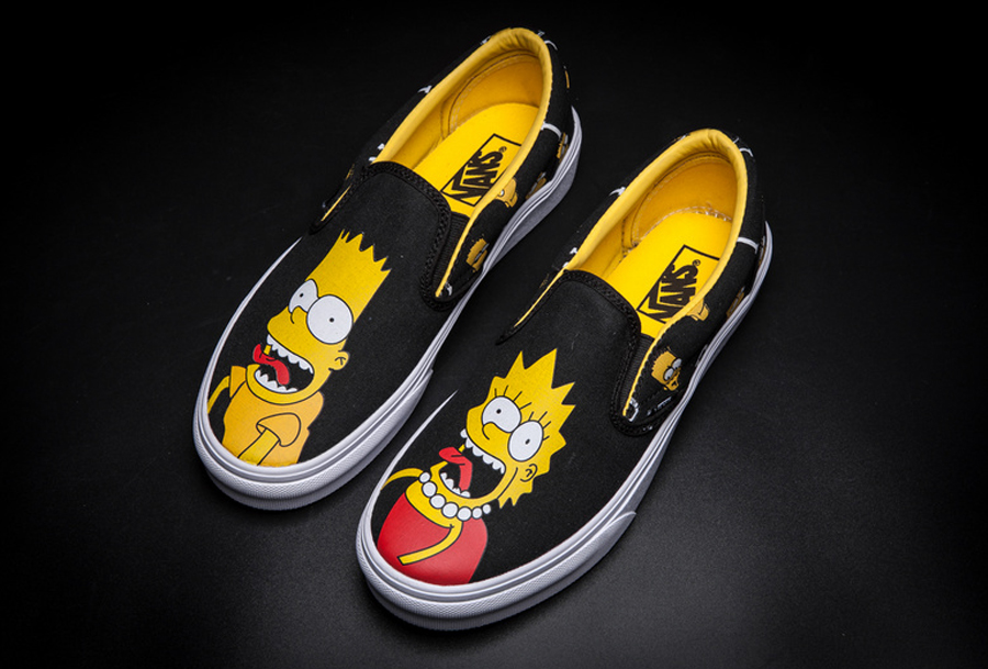 vans slip-on SIMPSONS