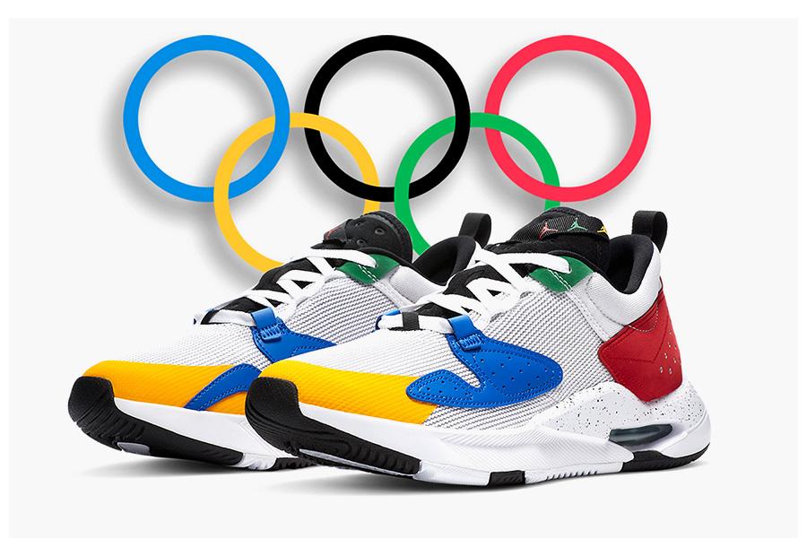 Jordan Air Cadence vyrobené pre olympijské hry 2020 foto 1