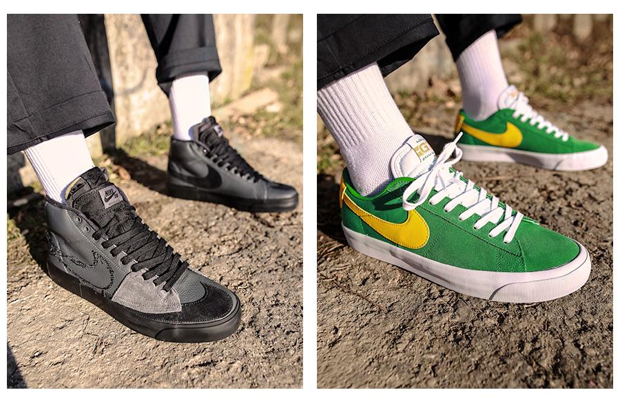 Vysoké tenisky Nike SB Blazer