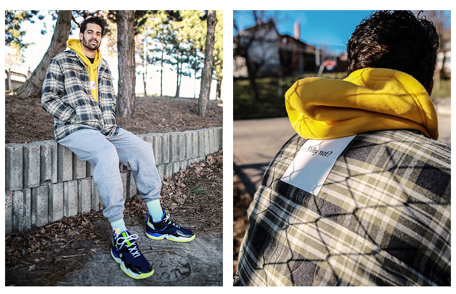Jordan collection why not lookbook