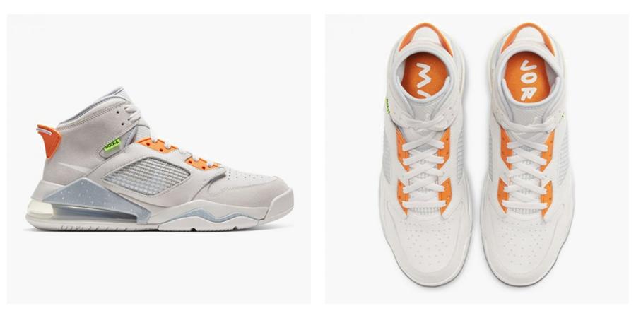 tenisky Jordan Mars270 grey white