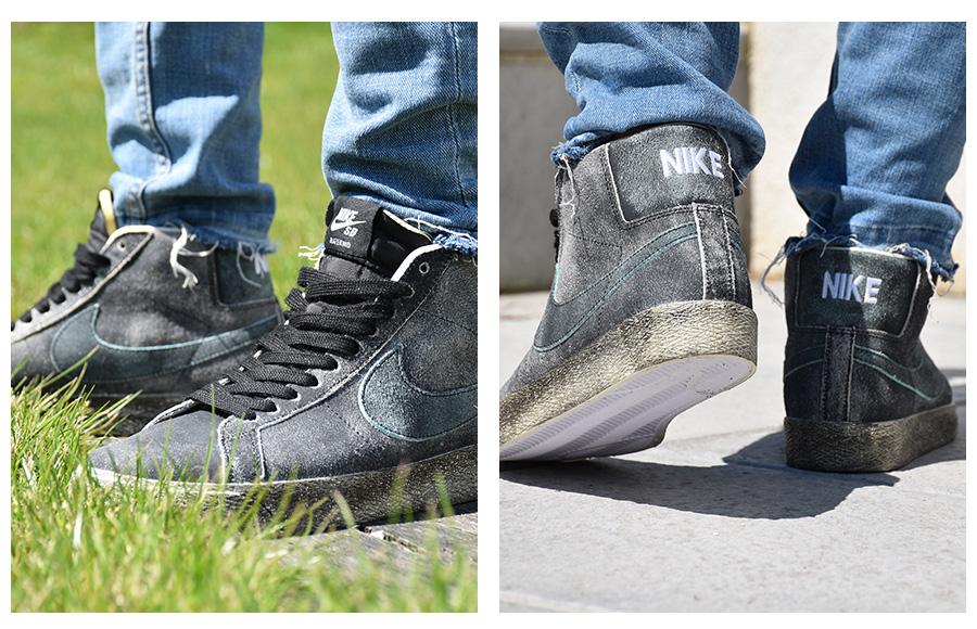 Krása sa ukrýva vo vnútri Nike SB Blazer new black
