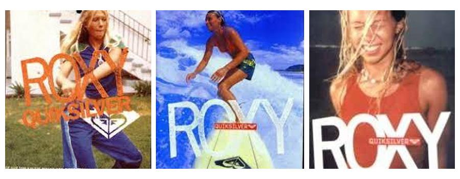 Prvá kolekcia ROXY vintage foto