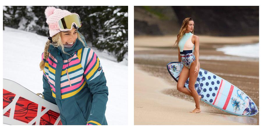 ROXY pop surf a ROXY pop snow