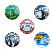 Ostatné - Thrasher Usual Suspect Buttons