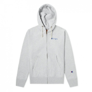 Mikiny - Champion Hooded Full Zip Sweatshirt