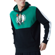 Mikiny - New Era NBA Colour Block Hoody Boston Celtics