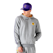 Mikiny - New Era NBA Piping Hoody Los Angeles Lakers