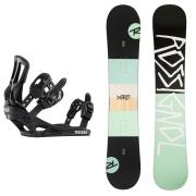 Snowboardové sety - Rossignol District Ltd+Battle